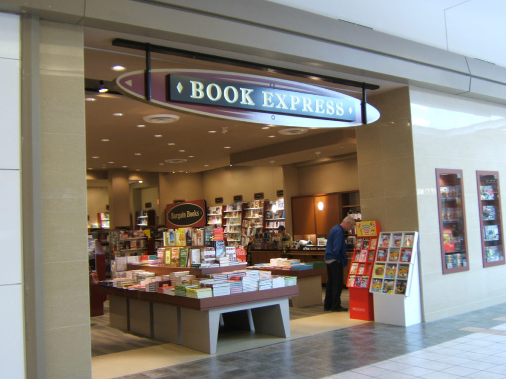 Book Express, Cambridge Centre, ON, carries my book